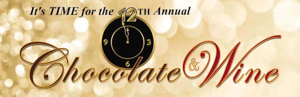 12th Annual Chocolate & Wine Banner
